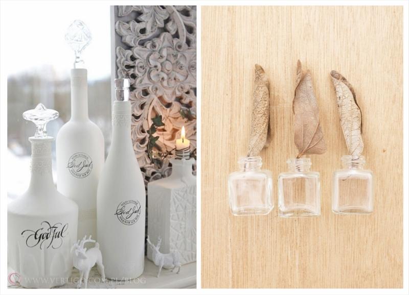 dekoracyjne butelki
