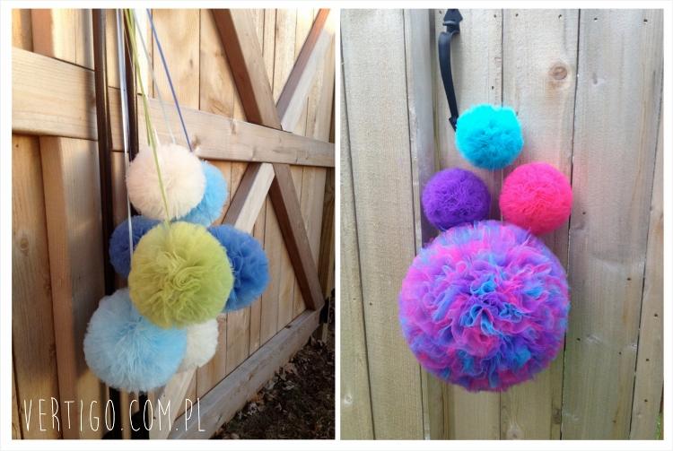 Kolorowe Pompony Do Dekoracji Vertigocompl